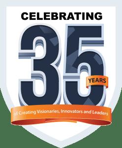 35 Years Badge